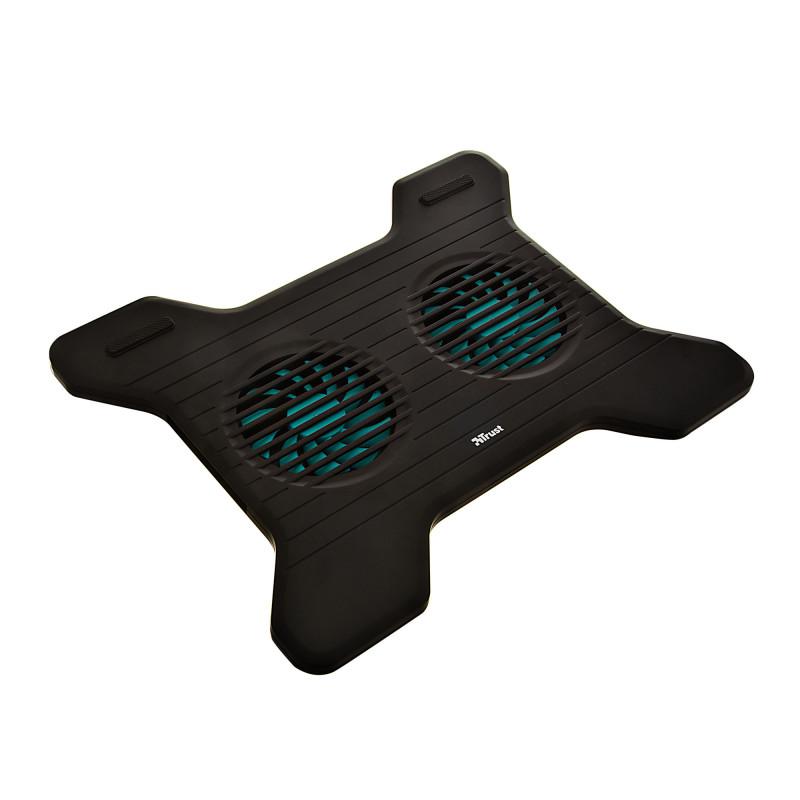 Soporte para laptop con 2 ventiladores Xstream Breeze Trust
