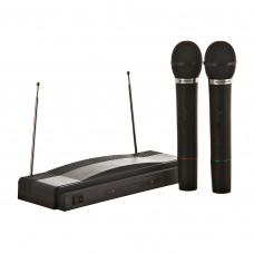 Juego de 2 micrófonos inalámbricos