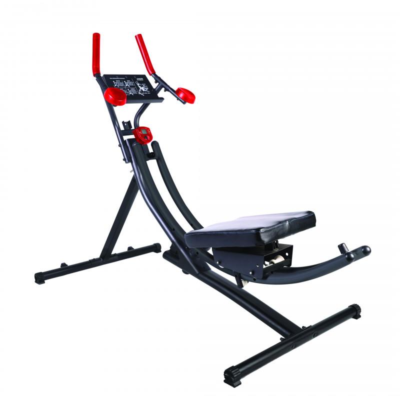 Máquina abdominal con rotación 180°