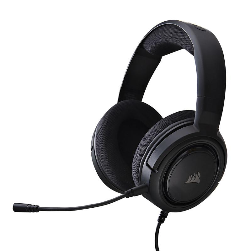 Audífonos gaming para PC / XBOX ONE / PS4 3.5mm con micrófono HS35 Stereo Corsair