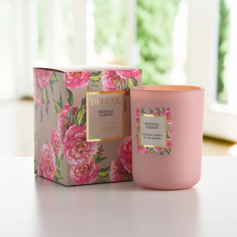 Vela vaso con aroma Oriental Garde Greenbay