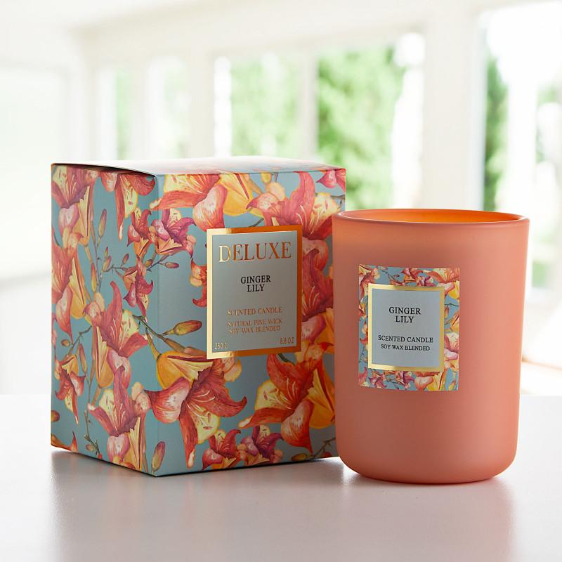 Vela vaso con aroma Ginger Lily Greenbay