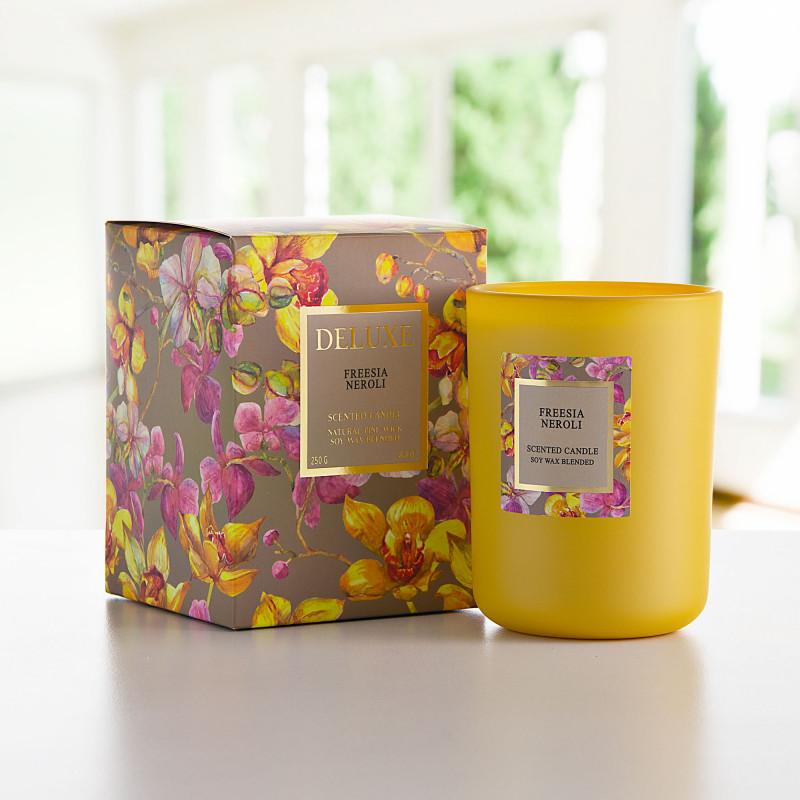 Vela vaso con aroma Freesia Neroli Greenbay