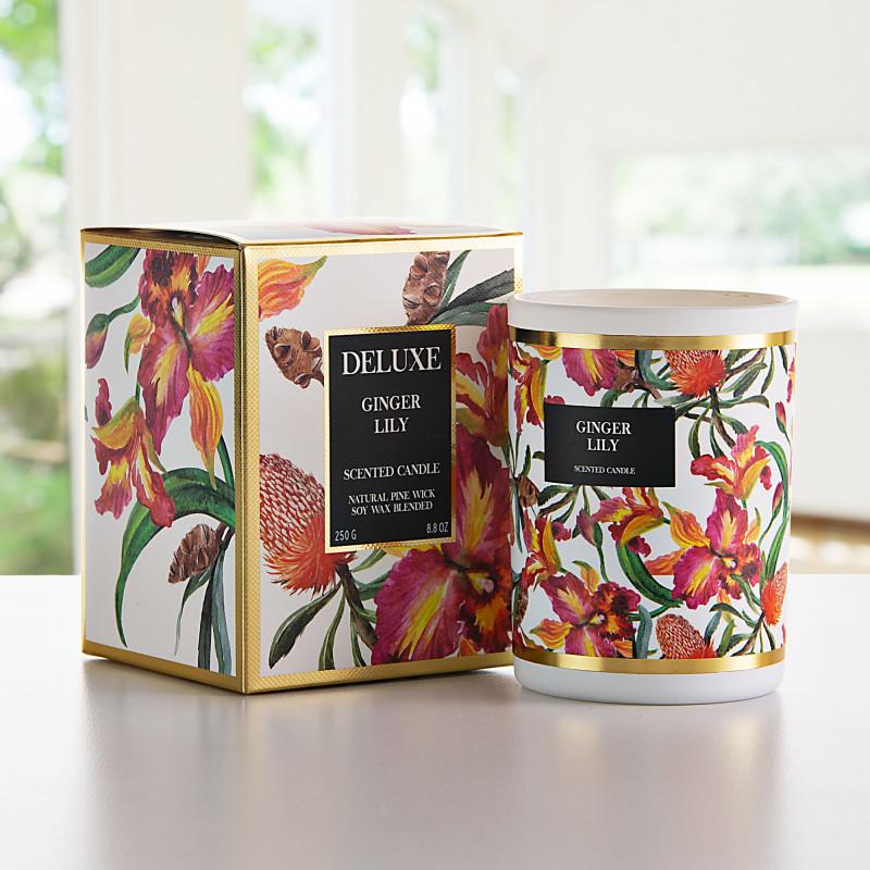 Vela vaso con aroma Flor Ginger Lily Greenbay