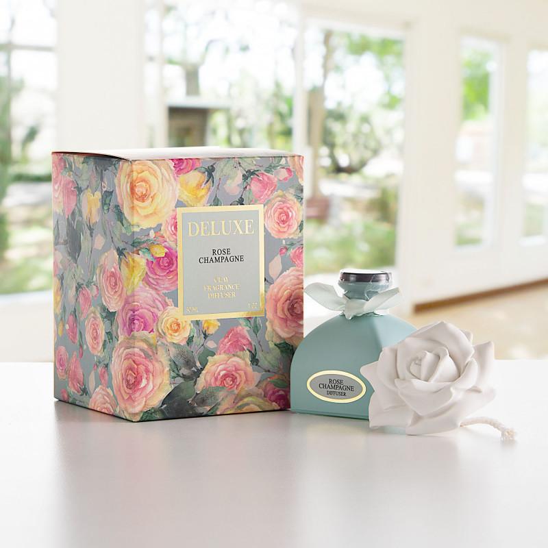 Difusor de aroma con tapa rosa Rose Champagne Greenbay