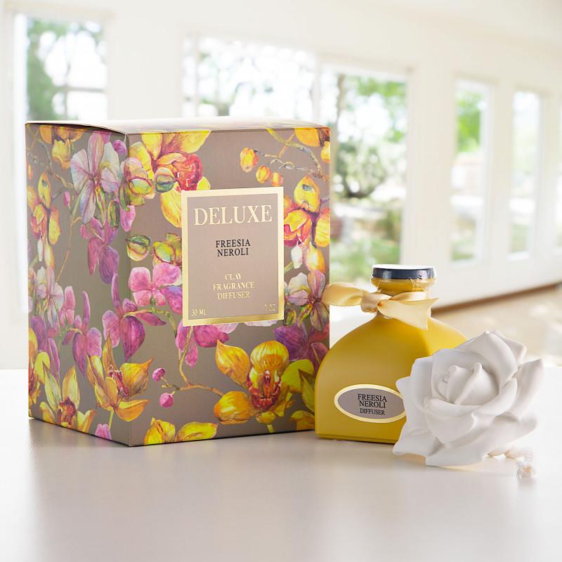 Difusor de aroma con tapa rosa Freesia Neroli Greenbay