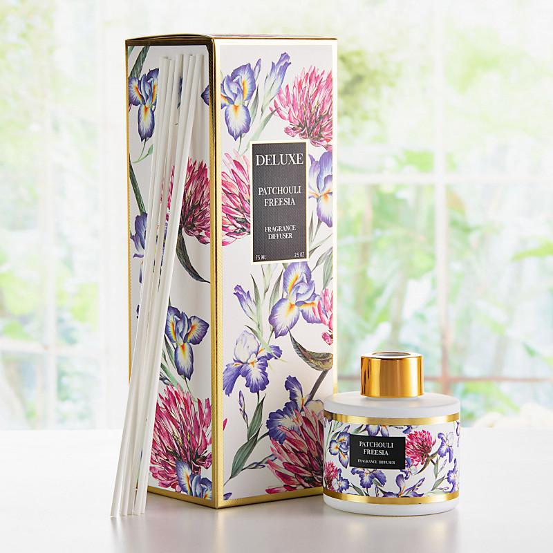 Difusor de aroma con varitas Patchouli Freesia Greenbay