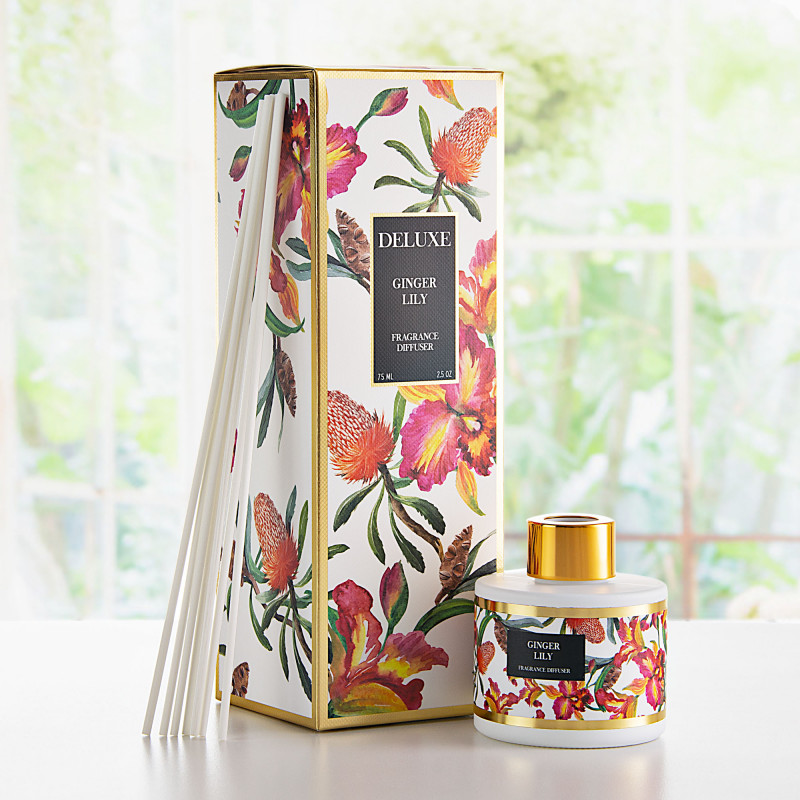 Difusor de aroma con varitas Ginger Lily Greenbay