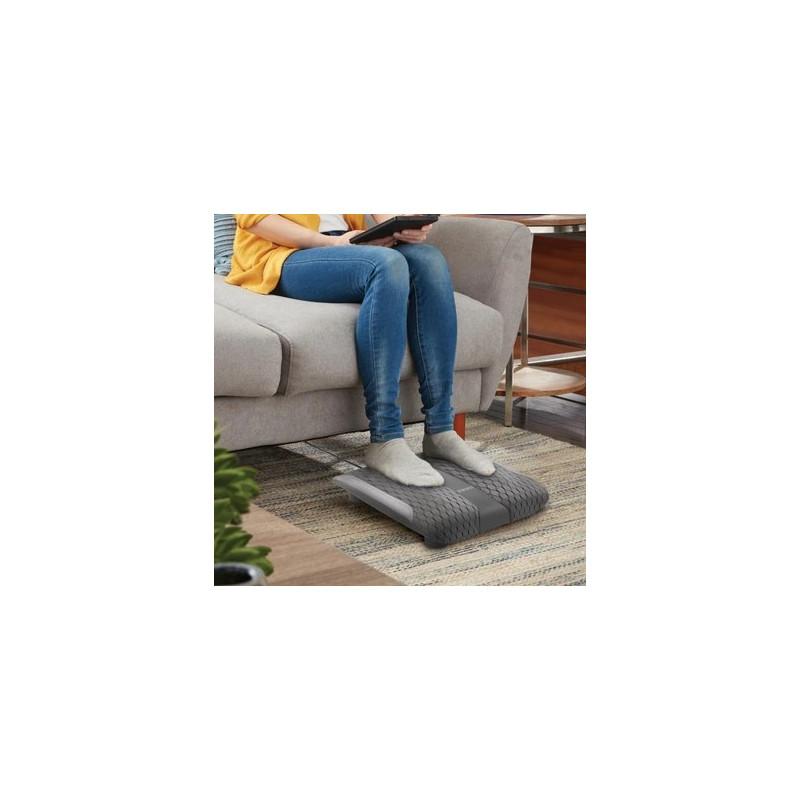 Masajeador eléctrico para pies con calor / gel masaje giratorio Homedics