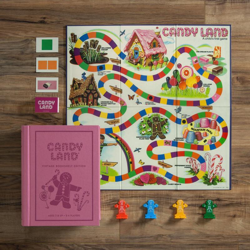 Juego de mesa Candy Land Libro Edición Vintage 2-4 jugadores