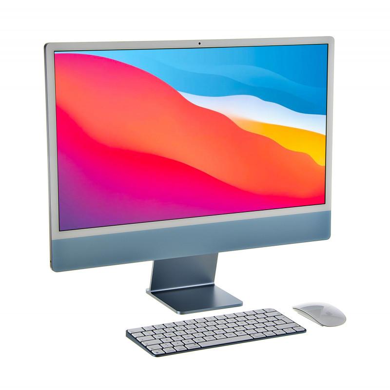 "Apple iMac M1 8C CPU-7C GPU / 8GB / 256GB / MK / Retina 4.5K Azul 24.0"""