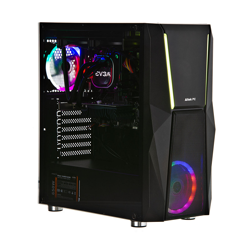 CPU Gaming CI7 10700 16GB / 480GB SSD / 1TB / 2GB de video Win10 Home