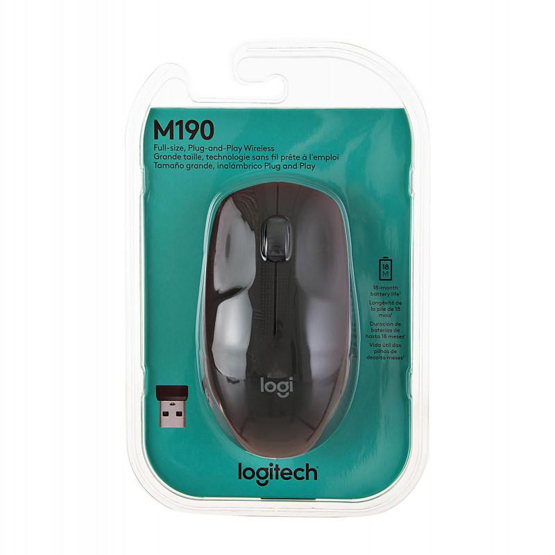 Mouse inalámbrico M190 Logitech