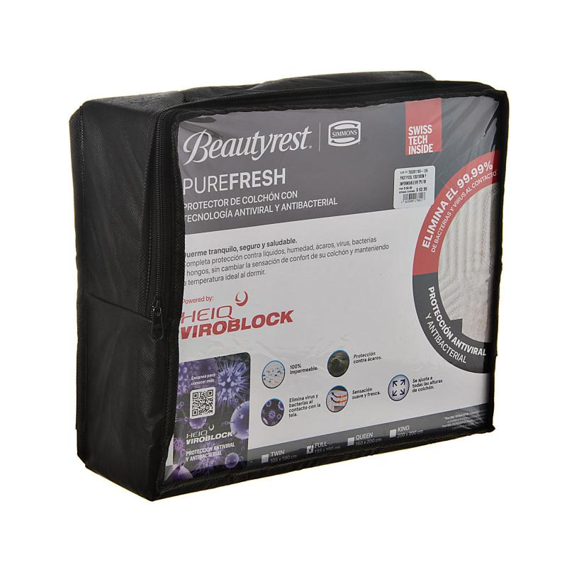 Protector para colchón Impermeable / Antibacterial / Antiviral Simmons
