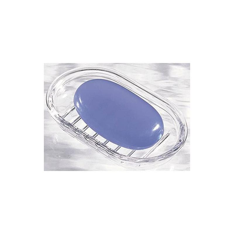 Jabonera oval Clear Royal Interdesign