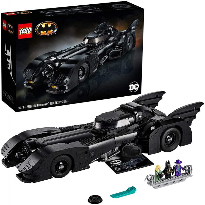 Lego 3308 piezas 1989 Batmobile DC