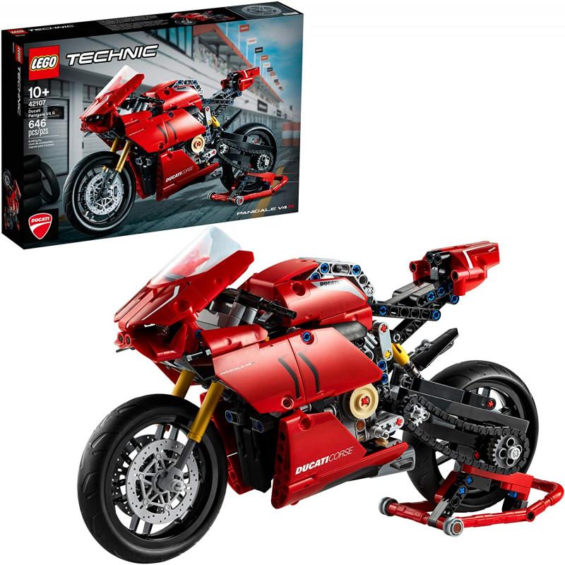 Lego 646 piezas Ducati Panigale V4R