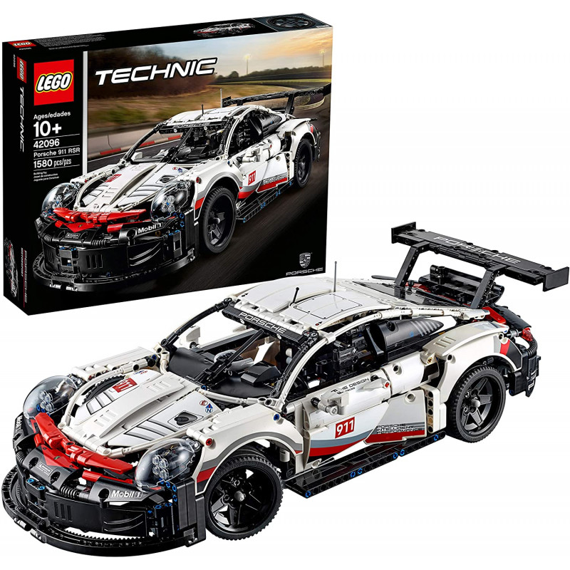 Lego 1580 piezas Porsche 911 RSR