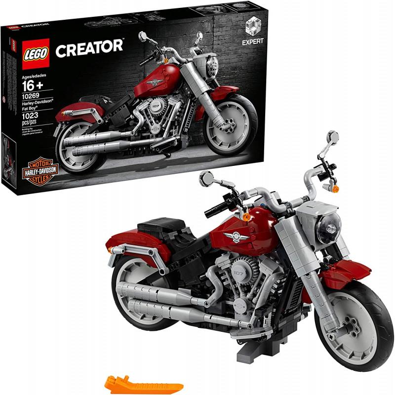 Lego 1023 piezas Harley-Davidson Fat Boy