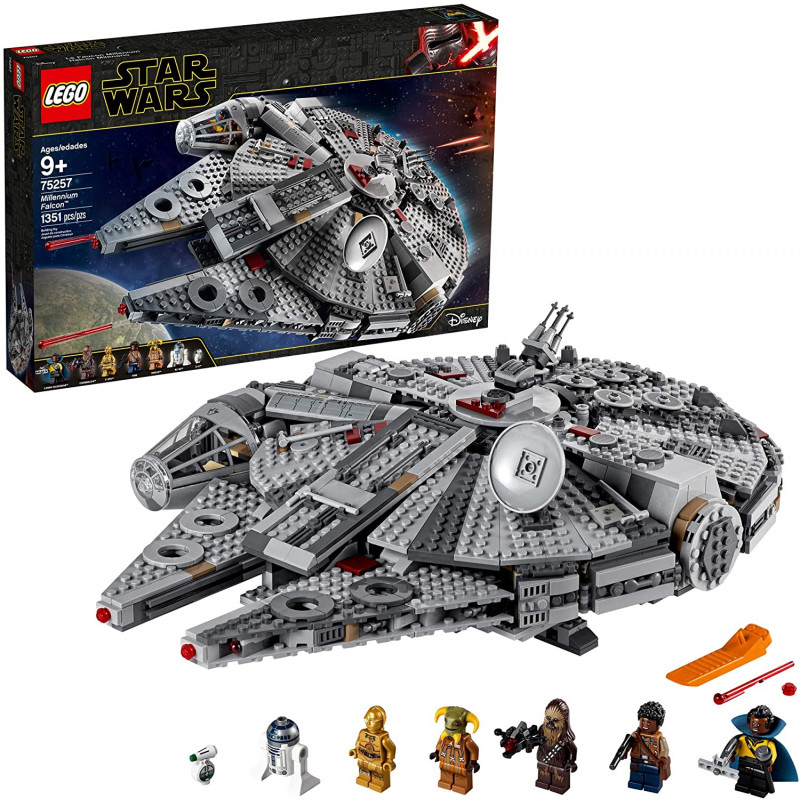 Lego 1351 piezas Star Wars Millenium Falcon