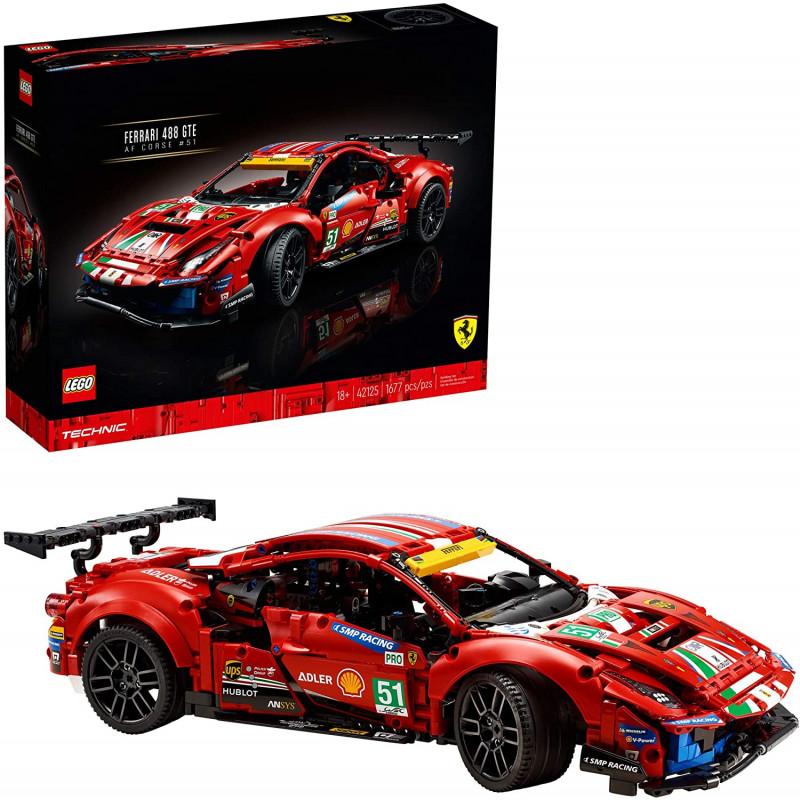 "Lego 1677 piezas Ferrari 488 GTE ""AF Corse #51"""