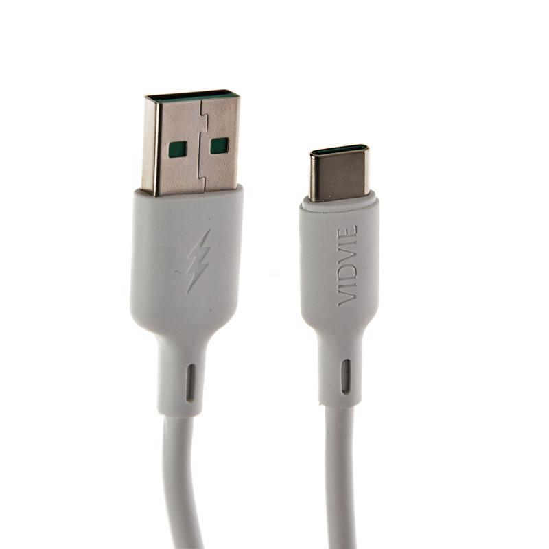 Cable Tipo-C 1.2m 5A CB486T VIDVIE