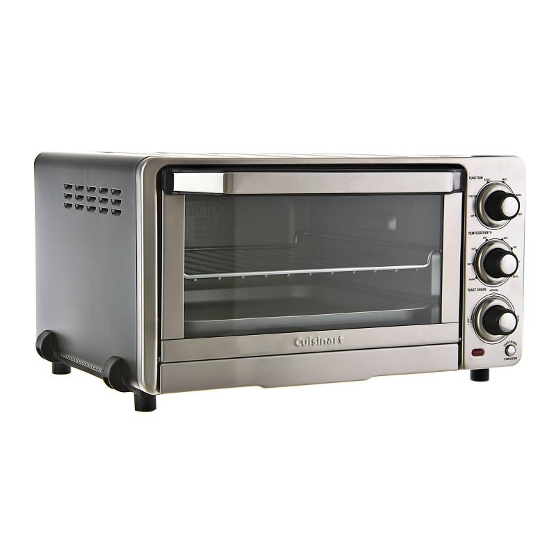 Cuisinart Horno tostador 1800W Acero inoxidable Clásico TOB-40N