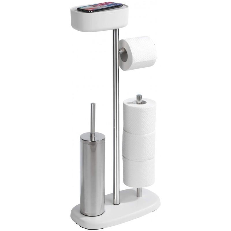 Porta papel / Cepillo para inodoro / Caja organizadora / Porta celular Rivazza Wenko