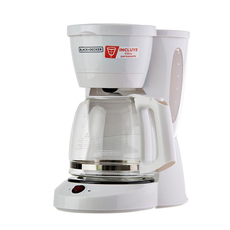 Cafetera con apagado automático CM0941W Black & Decker