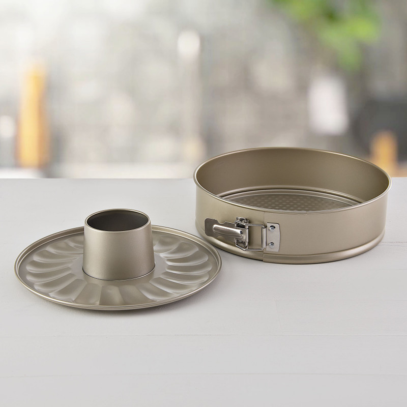 Molde desmontable / doble fondo antiadherente / aluminio Champagne Umco