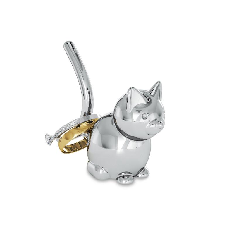 Porta anillos pequeño Gato Cat Ring Zoola Umbra
