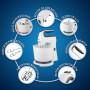 Batidoras manual / pedestal con acción giratoria / tazón plástico de 3.8 L 6 velocidades 250W FPSTHS3610 Oster