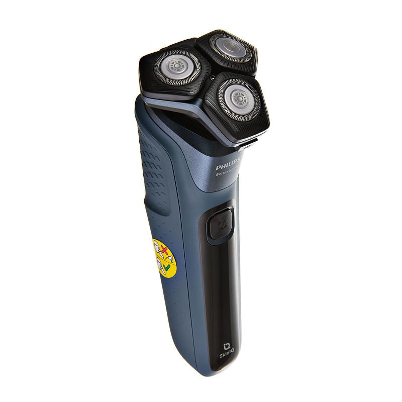 Afeitadora masculina recargable con recortador para patillas Seco / Húmedo con cuchillas autoafilables 360-D S5582/20 Philips