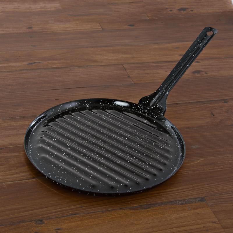 Sartén grill esmaltada Garcima