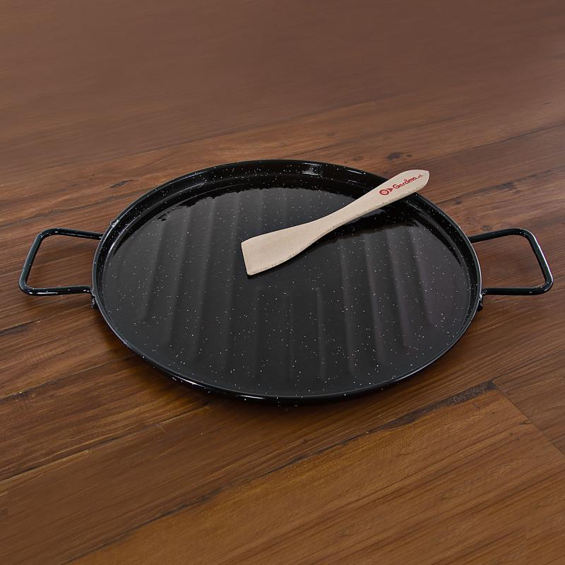 Plancha grill esmaltada Garcima
