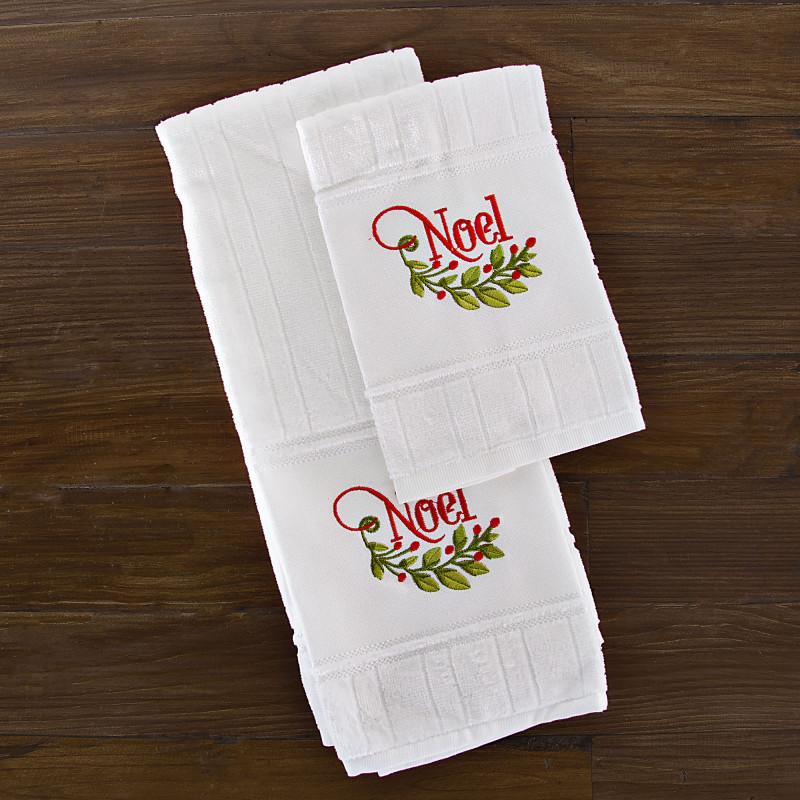Juego de 2 toallas Noel