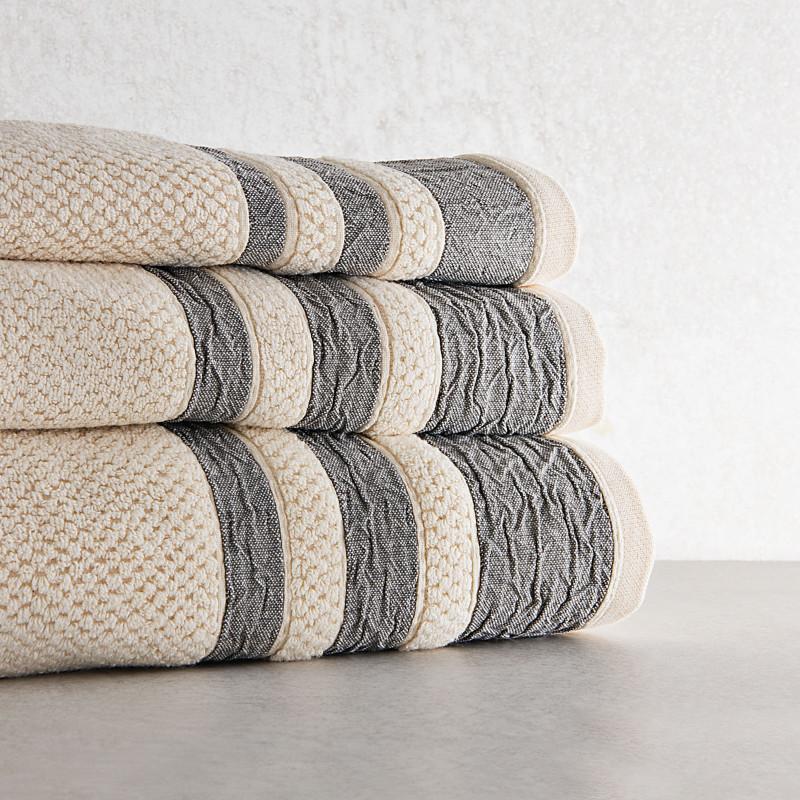 Colección de toallas con Cenefa Marsala Belfama