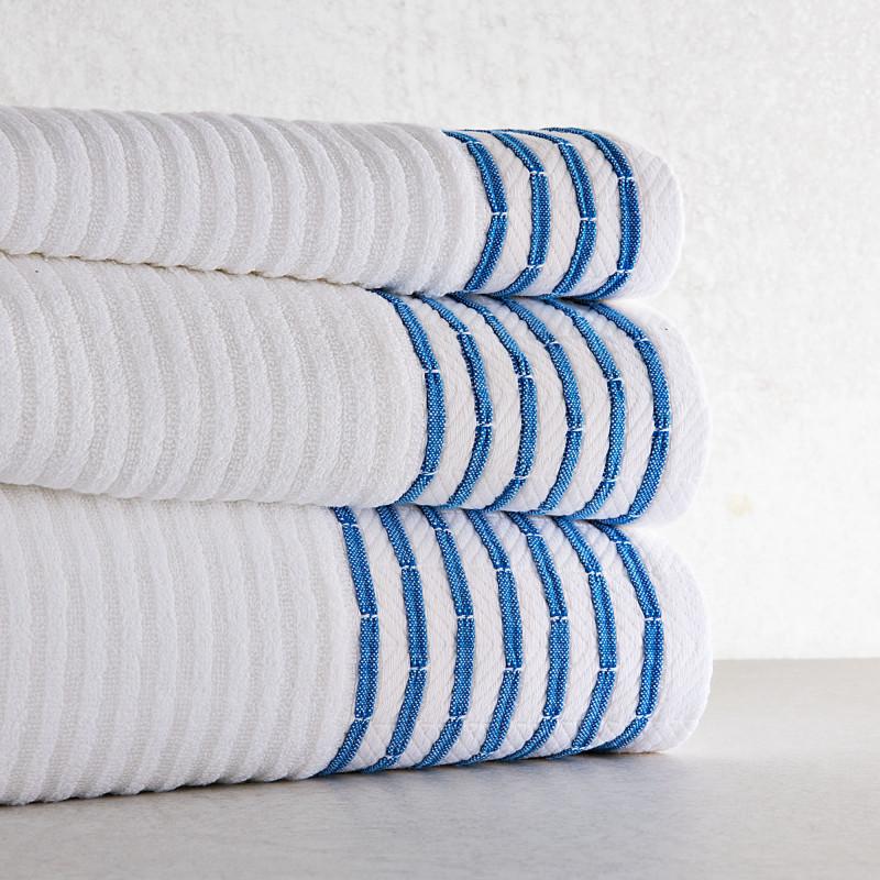 Colección de toallas con Cenefa Tricot Belfama