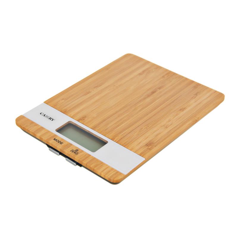 Balanza digital para cocina 11lb Bamboo Camry