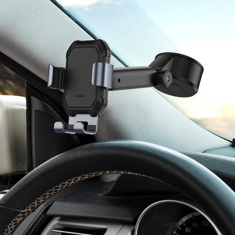 Soporte de celular para vehículo con ventosa Baseus