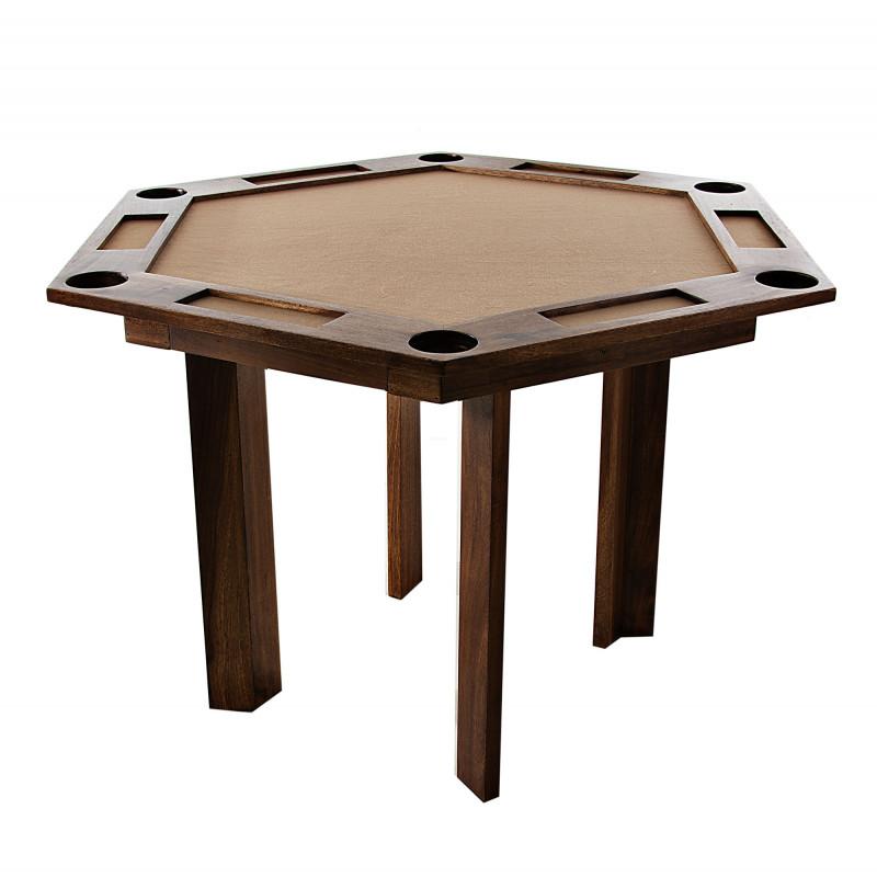 Mesa para juegos con 2 cajones laterales
