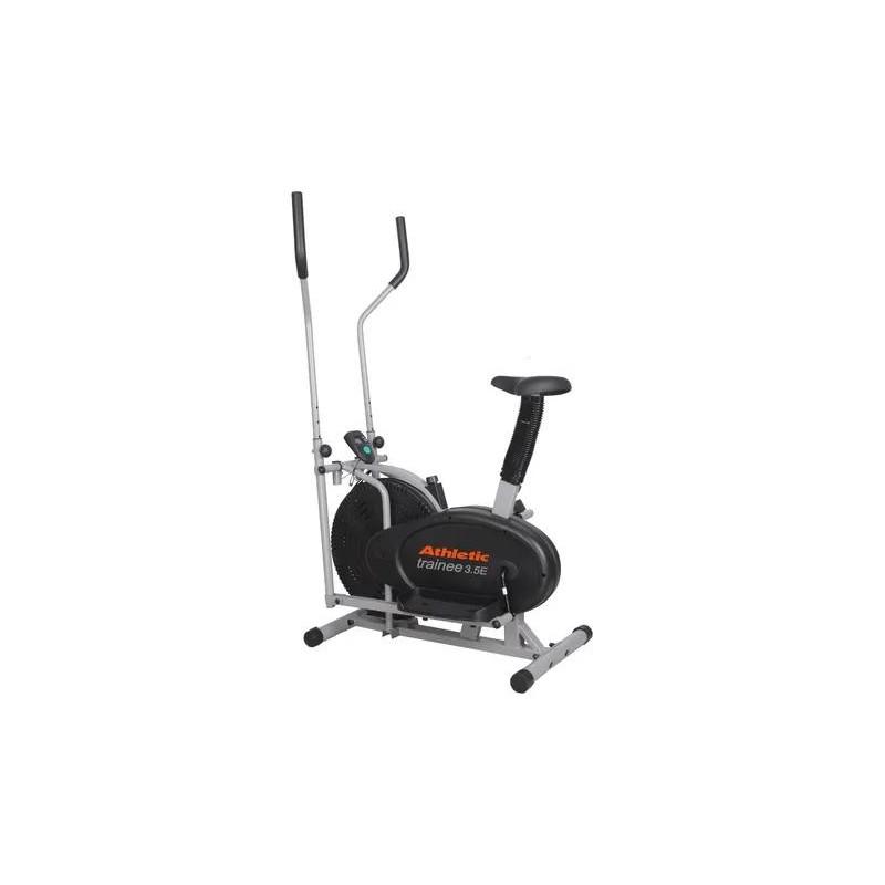 Elíptica Trainee 3.5E Rueda Inercia / Ventilador / 5 funciones / Peso máximo 100kg Athletic