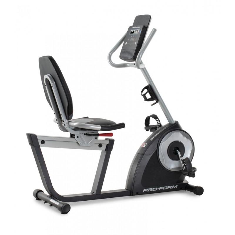 Bicicleta recumbent 12 niveles de resistencia digital / Volante inercia / Peso máximo 275 lbs 235 CSX