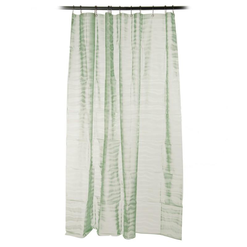 Cortina de baño Eva Interdesign Verde