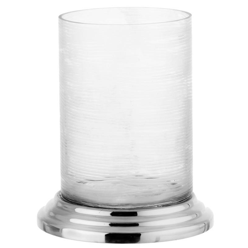 Vaso pequeño vidrio con base Haus
