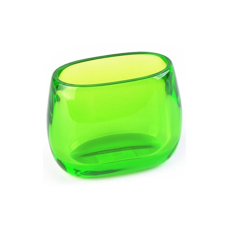 Vaso verde acrílico