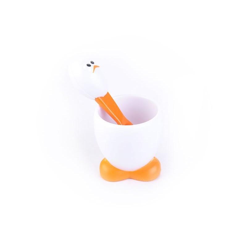 Taza con cuchara para huevo Joie