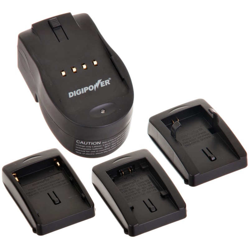 Batería/Cargador de viaje para cámara