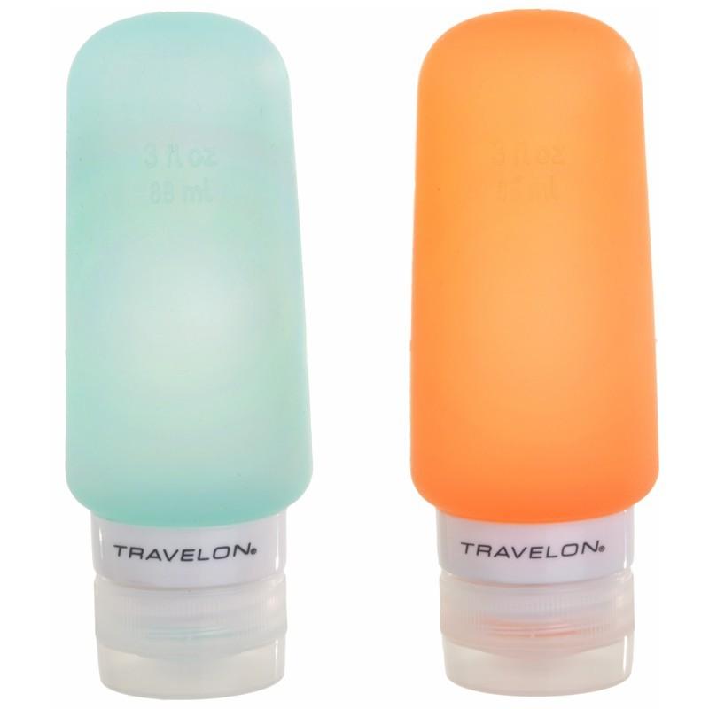 Juego de 2 botellas para viaje Travelon