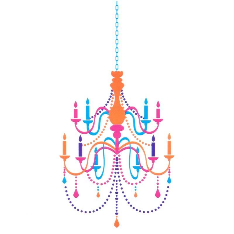 Vinilo decorativo Chandelier MyVinilo